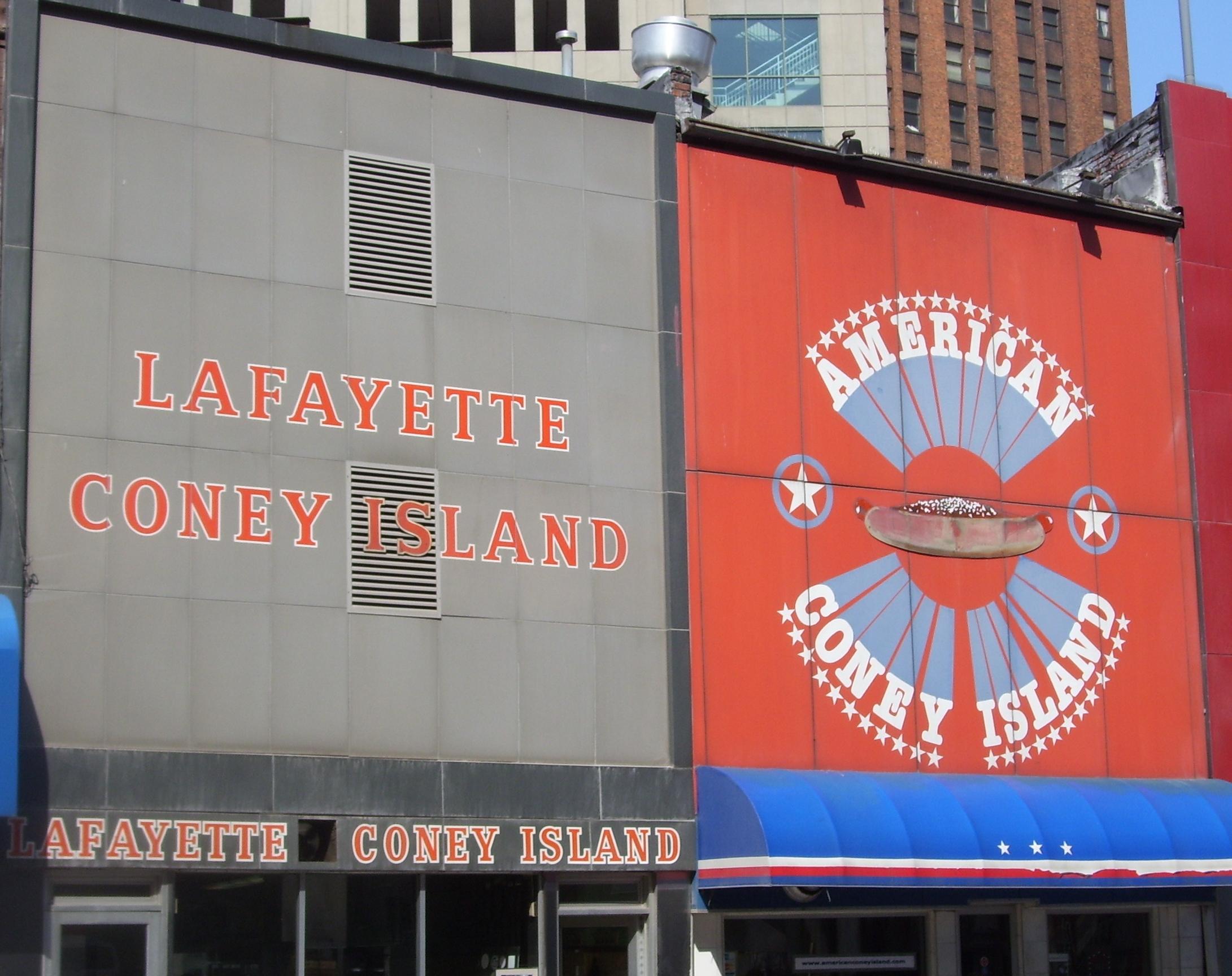 Lafayette Coney Island Detroit