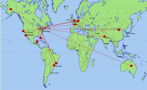Detroit In World Map: Where Is Detroit At Slyspyder.com