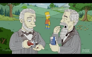 Trivia: Stu and Charles appeared on a 'Simpsons' episode in 1998