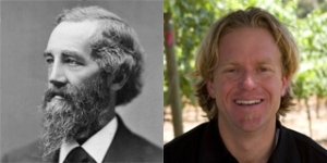 Family resemblance: Give Jeff a fake beard and you've go a 'sperated at birth'.