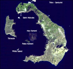 santorini_geography from air