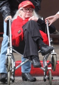 zsa zsa in wheel chair