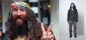 L.: Hippie.  R.: Boho