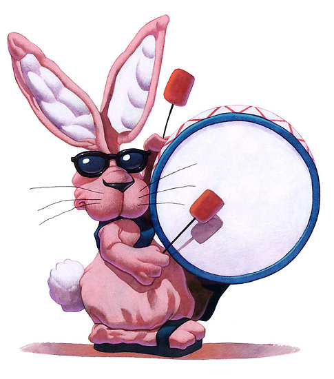 Image result for eveready battery bunny