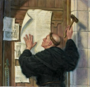 Luther nails longest word to Castle Church