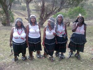 The Five Fat Sangomas from KwaZulu-Natal