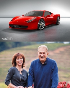 Top: Ferrari Bottom: Carano
