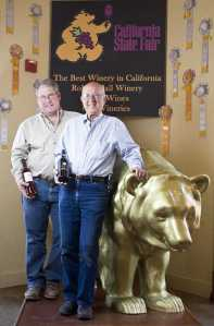 Don and Robert and Golden Bear