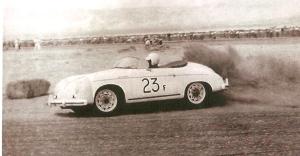 'Little Bastard', a 1955 Porsche 550 Spyder
