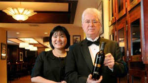 One of these Morton's sommeliers is a real person.