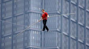 Nik Wallenda, following in his father's footsteps?