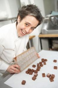 Cary Becraft of CaryMo Chocolate