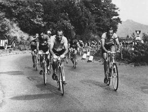 Fausto Coppi is on the right