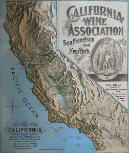 Brochure for the California Wine Association symposium