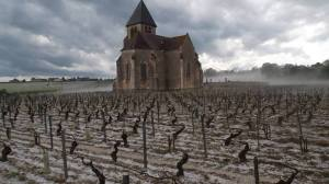 Churches and hail in Burgundy