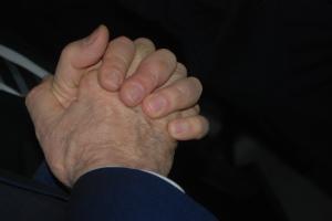 Brumont's hands