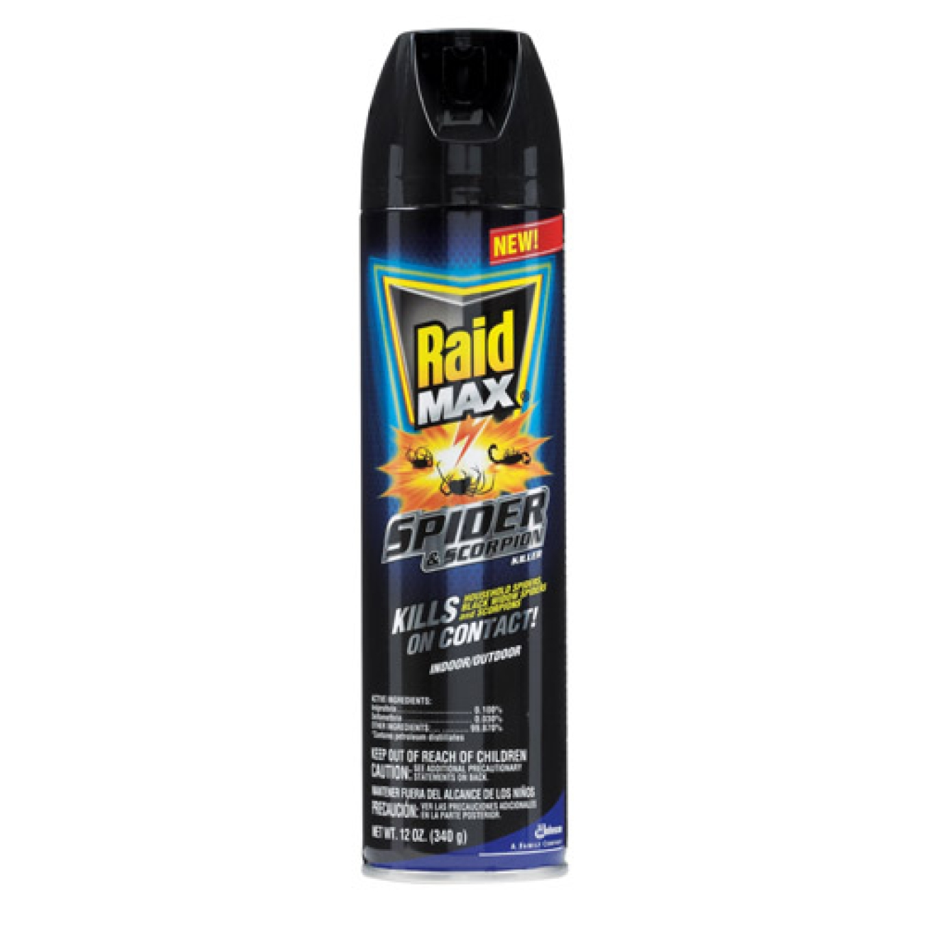 how to clean up raid wasp spray