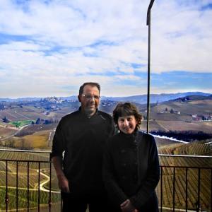Silvio Giamello and Marina Camia